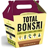 Sproutbrite Bonsai Tree Starter Kit - Seed Starter - Gardening Gift - The 5 Easiest Tree Types to Grow from Seed - Complete DIY Mini Plant Growing kit