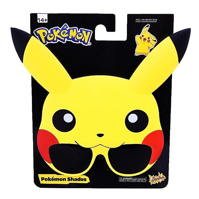 Sun-staches–Pokémon Pikachu Lunettes de soleil Adulte PvaoG