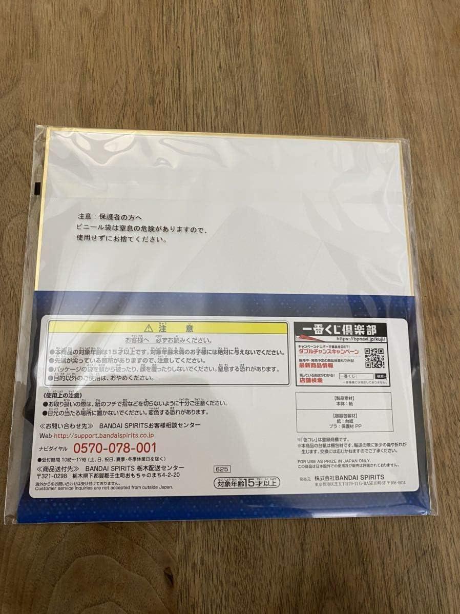Ichiban Kuji Evangelion Movie Version Entry Start F Award Colored Paper Plug Suit Rei Ayanami