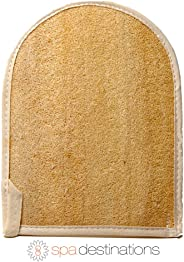 Natural Loofa Exfoliating Bath Mitt by Spa Destinations