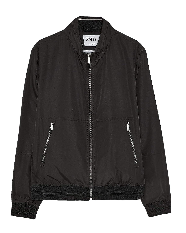 Zara - Chaqueta - para Hombre Negro XL: Amazon.es: Ropa y ...