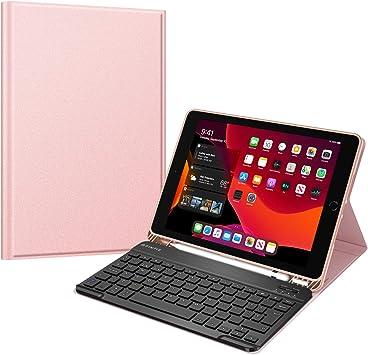 Fintie Funda con Teclado Español Ñ para iPad 10,2