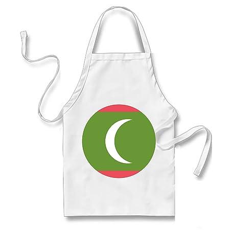Flag For Maldives Emoji Apron Amazon Co Uk Kitchen Home