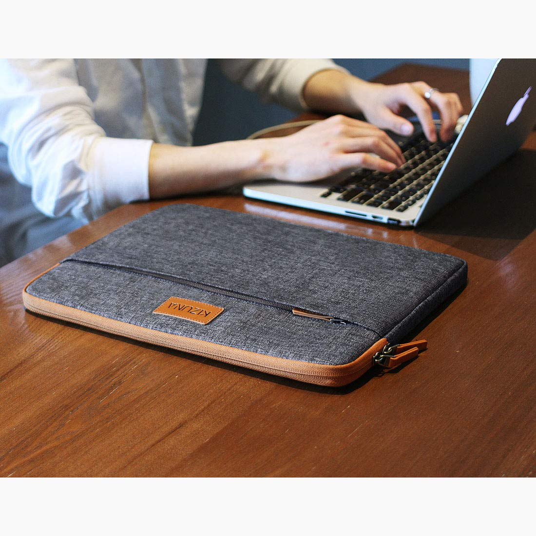 KIZUNA Laptop Sleeve 11 Inch Water-Resistant Shockproof Notebook Case Portable Carrying Bag for 11.6 Computer//MacBook Air//12.9 ipad pro 2018//Surface Pro//100e Chromebook//Acer Spin 11//Huawei MateBook E