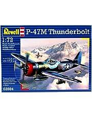 Revell-P-47 M Thunderbolt, Kit de Modelo, Escala 1:72 (3984), 15,6 cm 03984