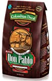 5LB Cafe Don Pablo Decaf Swiss Water Process Colombian Gourmet Coffee Decaffeinated - Medium-Dark Roast - Whole Bean Coffee - 5 Pound ( 5 lb ) Bag