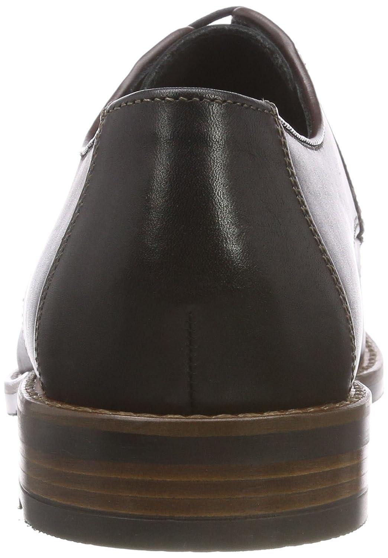 LLOYD LLOYD LLOYD Herrenschuh STONE, detailreicher Business-Halbschuh aus Leder mit Gummisohle  824da2