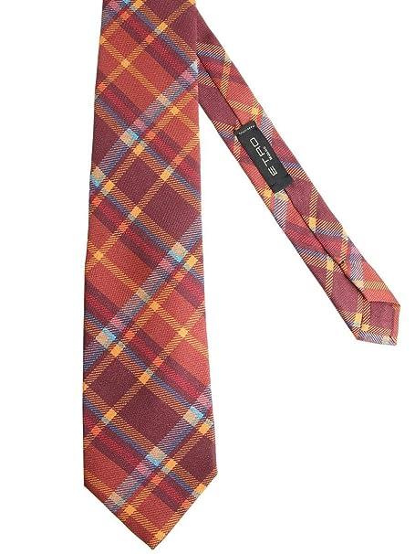 purchase cheap 9ecd5 7313e Etro Cravatta Uomo 120264020750 Seta Rosso: Amazon.it ...