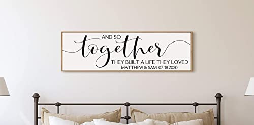 Better Together Printable,Newlywed gift for couples,Romantic quote print,Farmhouse bedroom wall decor,Motivational wall poster,Over bed sign