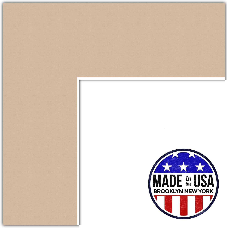 カスタムマット、カスタマイズ可。 18x21 ピンク MAT-111-18x21-Scotch Mist B01B3AIDEA 18x21,デューン