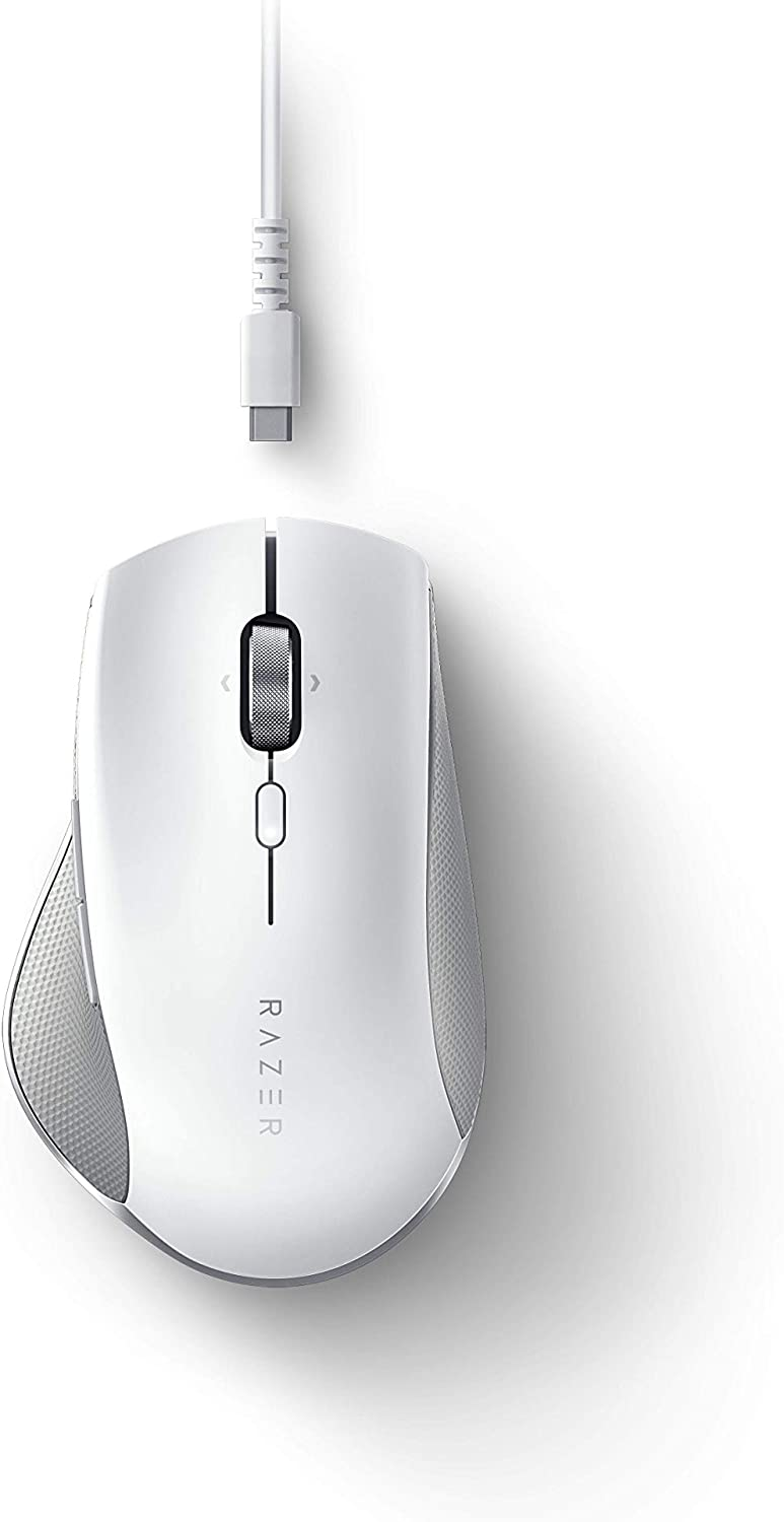 Razer Pro Click Humanscale Wireless Mouse: Ergonomic Form Factor - 5G Advanced Optical Sensor - Multi-Host Connectivity - 8 Programmable Buttons - Extended Battery Life of up to 400 Hours