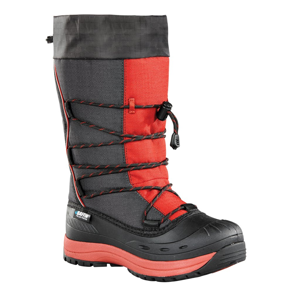 Baffin Women's Snogoose Winter Boot B01BOWIM7U 11 B(M) US|Charcoal/Red