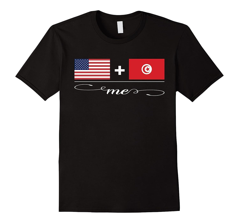 American  Tunisian  Me Flag T-Shirt-PL