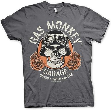 Gas Monkey Garage Official Camiseta para Hombre, diseño de ...