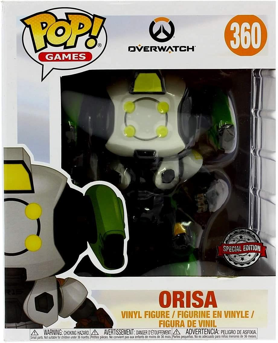Pop! Overwatch S4 - Orisa (R15 Skin) 15 CM Exclusive: Amazon.es ...