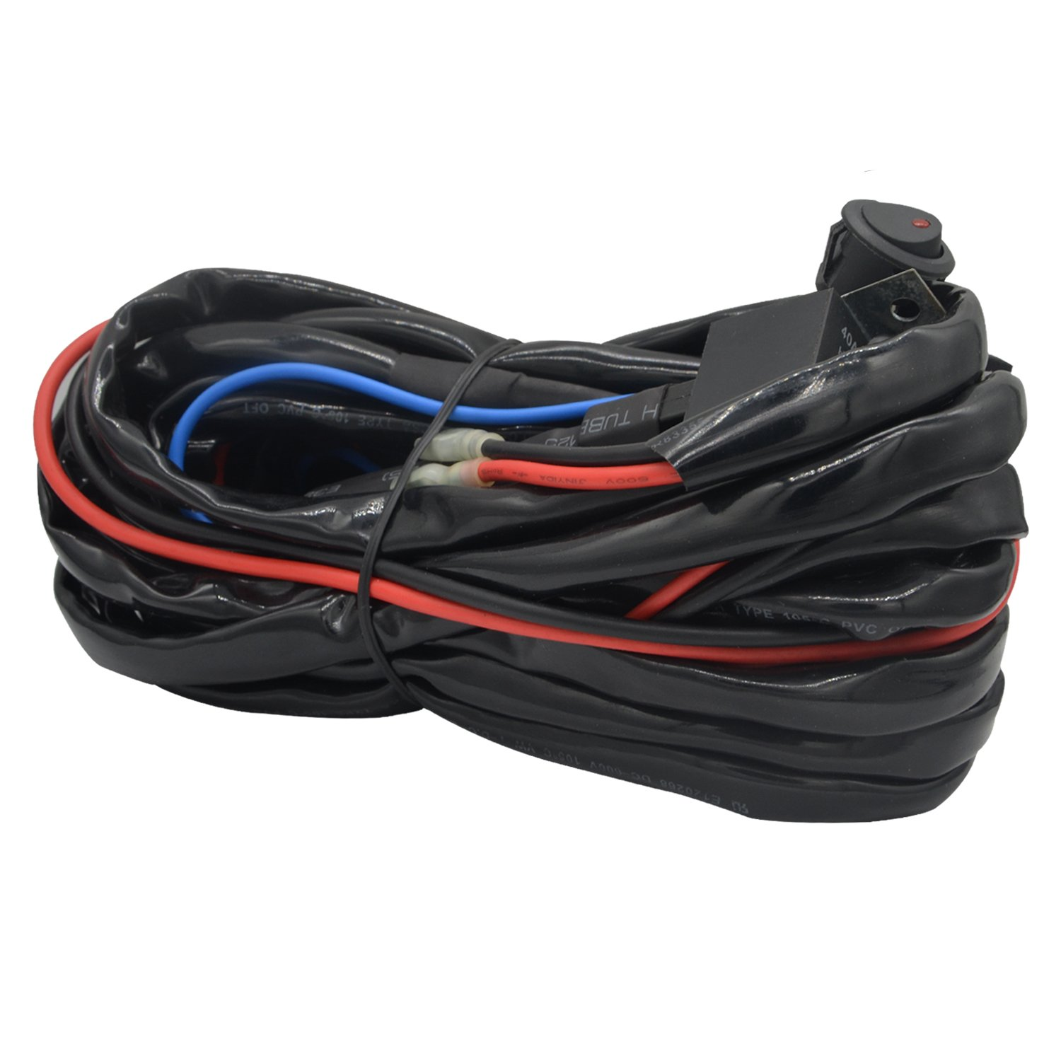71hdbgsGjCL._SL1500_ amazon com wiring harnesses electrical automotive ksc-wa100 wiring harness at beritabola.co