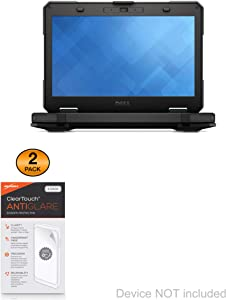 Dell Latitude 5414 Rugged with Touchscreen (14 in) Screen Protector, BoxWave [ClearTouch Anti-Glare (2-Pack)] Anti-Fingerprint Matte Film Skin for Dell Latitude 5414 Rugged with Touchscreen (14 in)