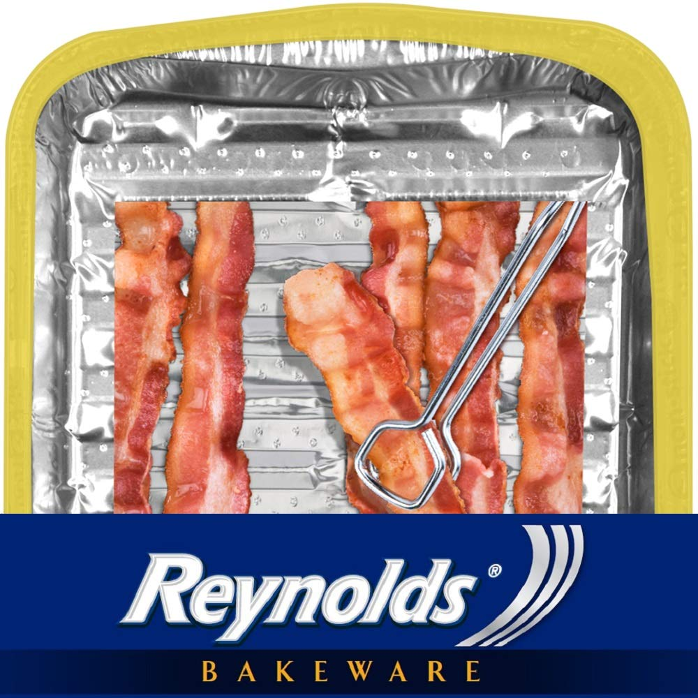 Reynolds Bakeware Disposable Broiler Pan - 11x8'', 3Count by Reynolds (Image #3)