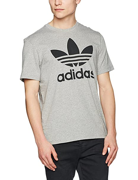 Adidas. Mens Originals Trefoil Camiseta Manga Corta Regular Fit