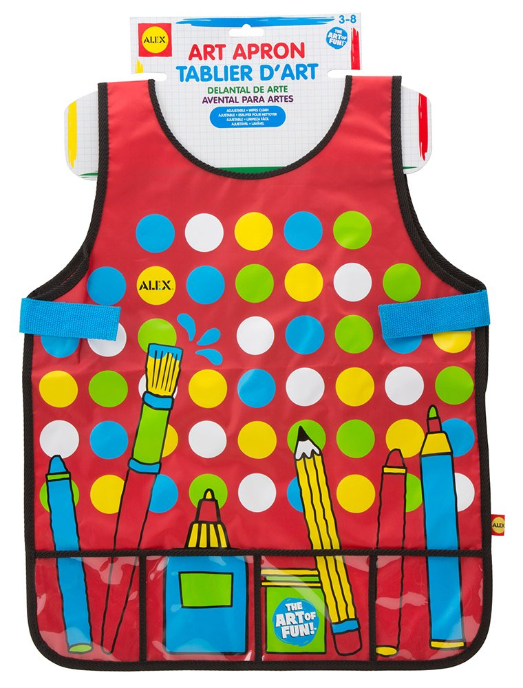 ALEX Toys Artist Studio Art Apron with Pockets 36N