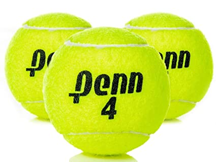 Amazon.com: Penn High Altitude Tennis Balls Championship – 4-Pack 12 Balls Yellow - USTA & ITF Approved - Official Ball of The United States Tennis ...