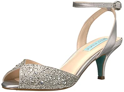 a102e761a2d Blue by Betsey Johnson Women s Royal Silver 5 ...
