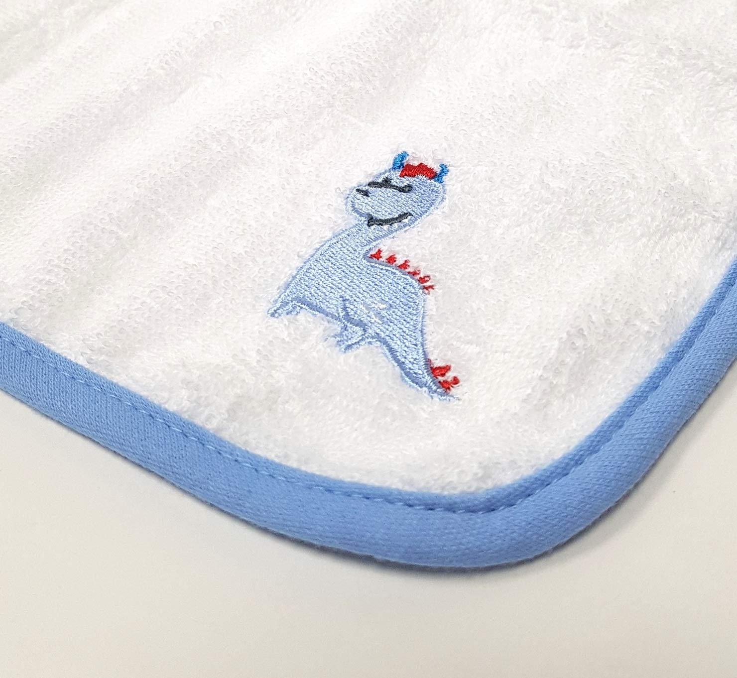 Wascht/ücher 4er pack Baby Waschlappen Handt/ücher 100/% Baumwolle 4st/ück Dino