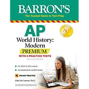 AP World History: Modern Premium: With 5 Practice Tests (Barron's AP)