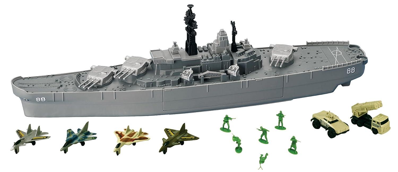 amazon com uss giant battleship toys games