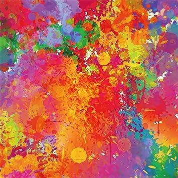 LFEEY 8 x 8 ft Colorido Arco Iris Colores Fondo Pastel Color ...