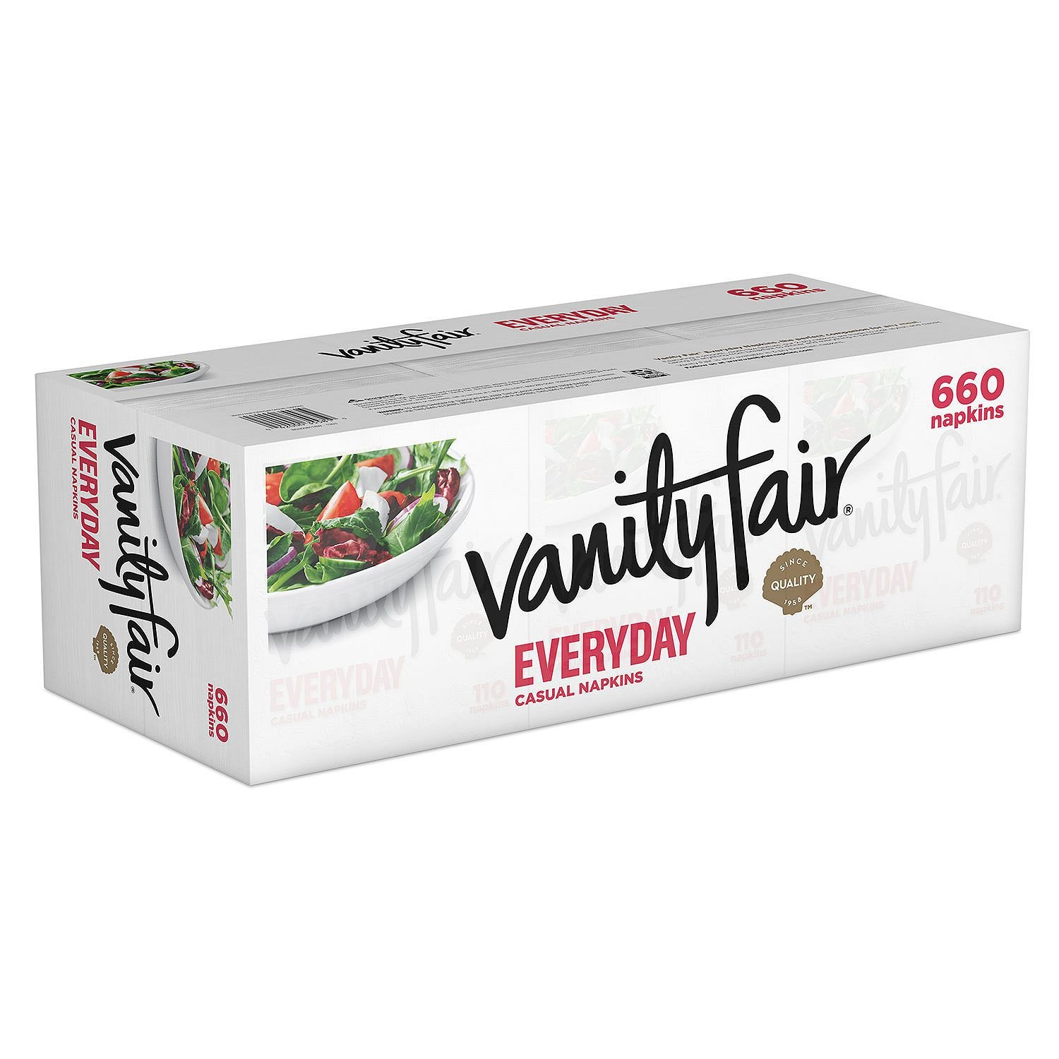 Vanity Fair Everyday Napkins, White Paper Napkins, 660 Count by Vanity Fair (Image #3)