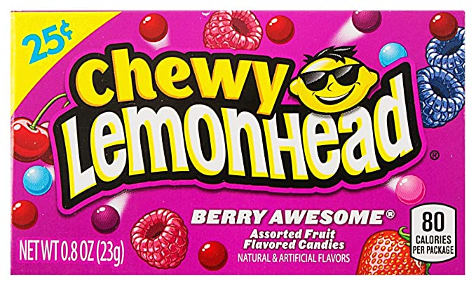 edd79904b4508 Ferrara Candy Company Chewy Lemonhead Berry Awesome (23g)