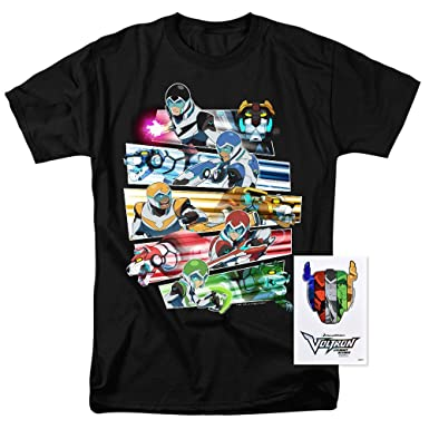 1bd7ba585 Amazon.com: Voltron Legendary Defenders Paladins T Shirt: Clothing