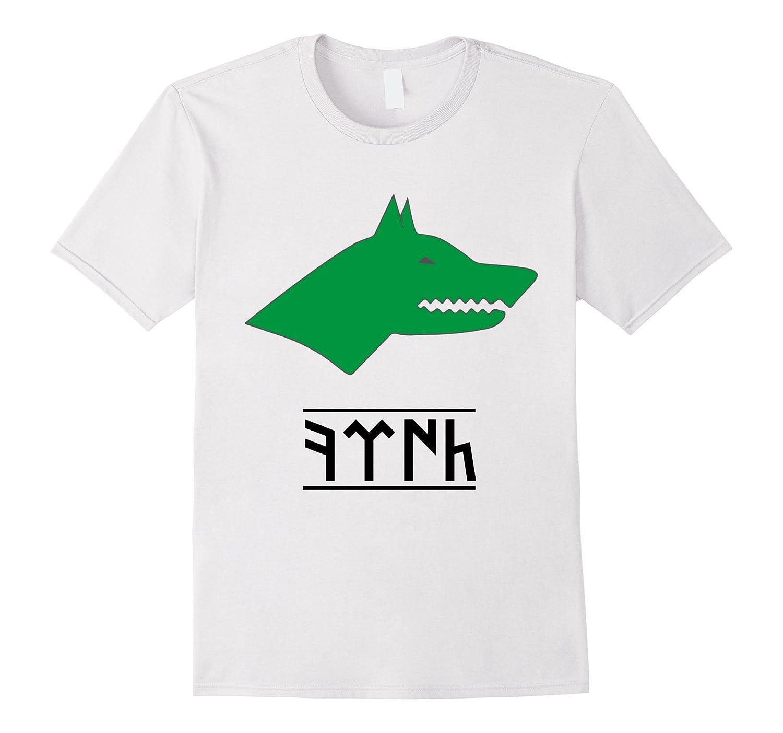 Gokturk Tshirt Grey Wolf Writing Tshirt-Vaci