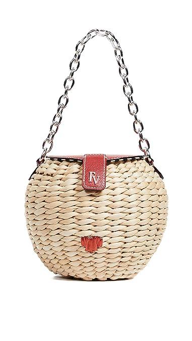 71942b07d Amazon.com: Frances Valentine Women's Honey Pot Bag, Natural, Tan ...