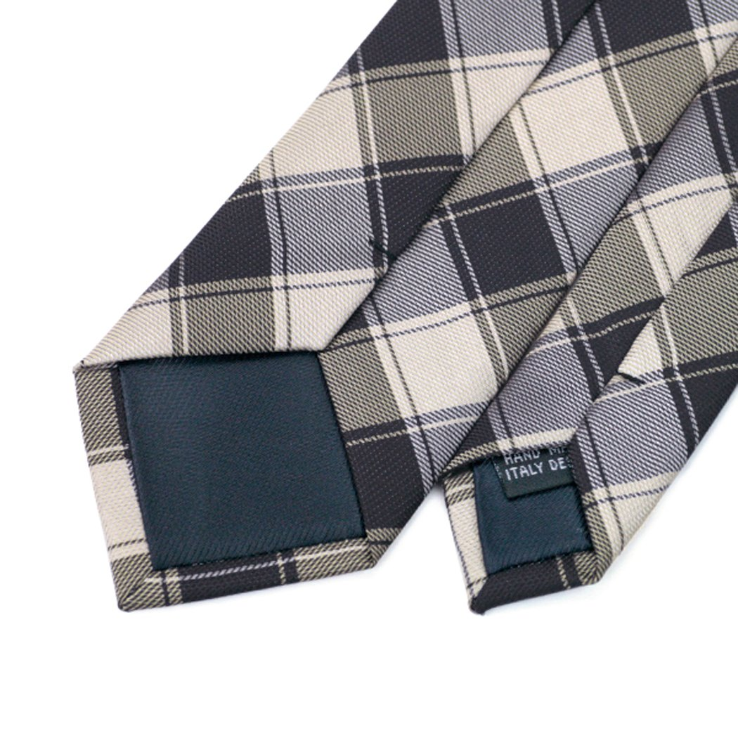 CAOFENVOO Mens Skinny Tie Jacquard Woven Silk Formal Necktie
