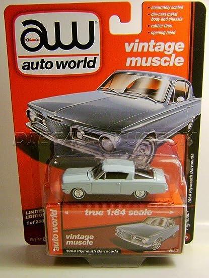 Amazon com : 1964 '64 PLYMOUTH BARRACUDA CUDA VINTAGE MUSCLE AW AUTO