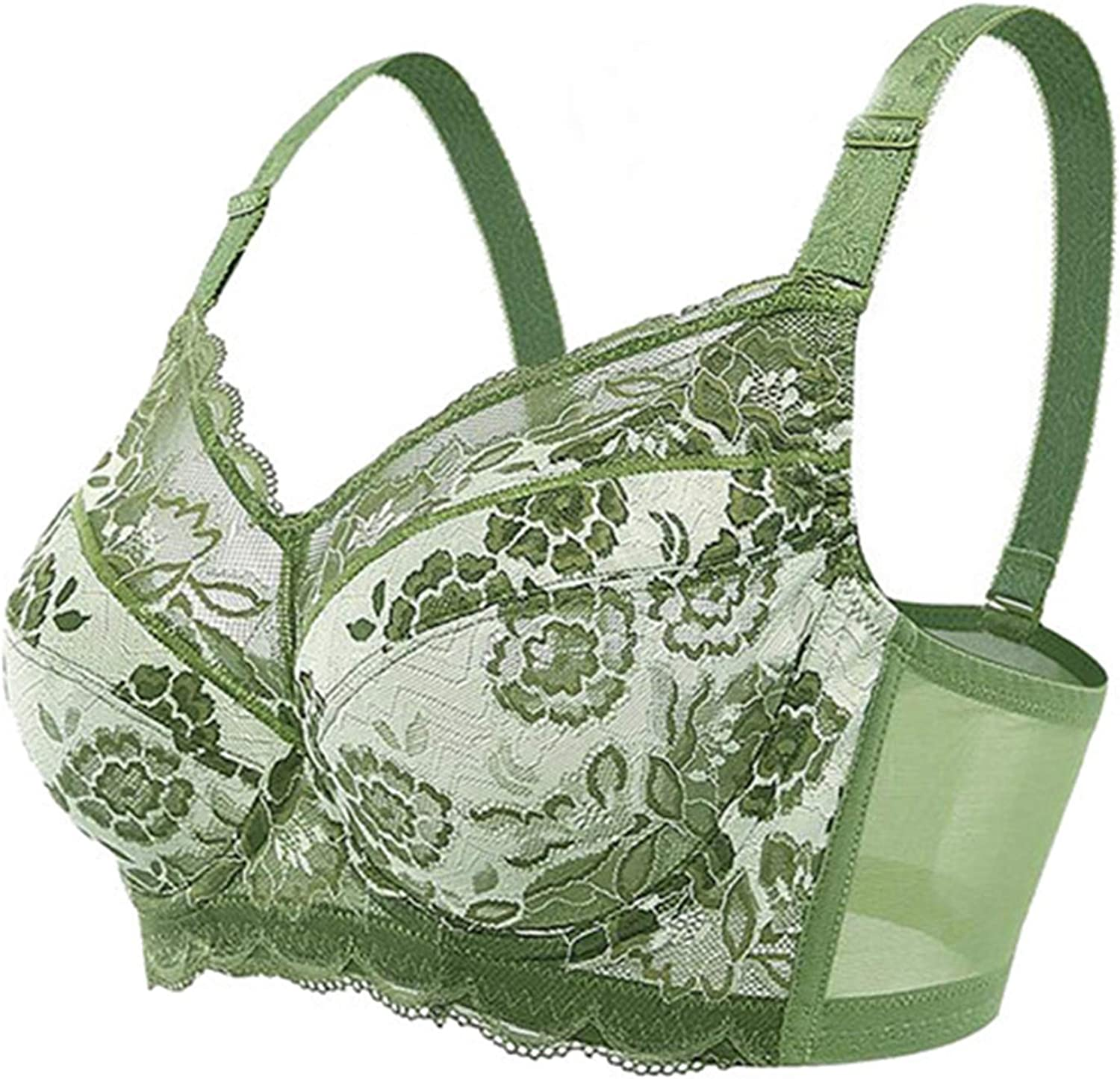 Susie Zechariah Female bras Big Size Full Coverage Non-Padded Underwire Unlined Thin Bra Back Closur