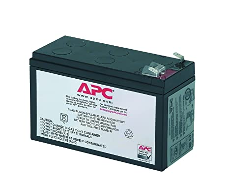 Apc rbc17 pacco batterie sostitutive per ups apc be700g it