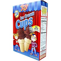 Joy Cone 24-Count ICE CREAM CUPS 3.5oz (2 Pack)