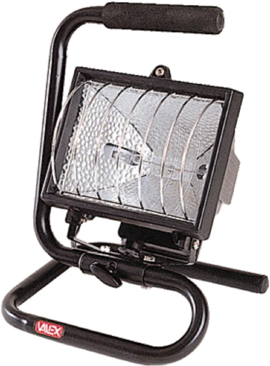 Valex Projecteur halog/ène sur pied 500W
