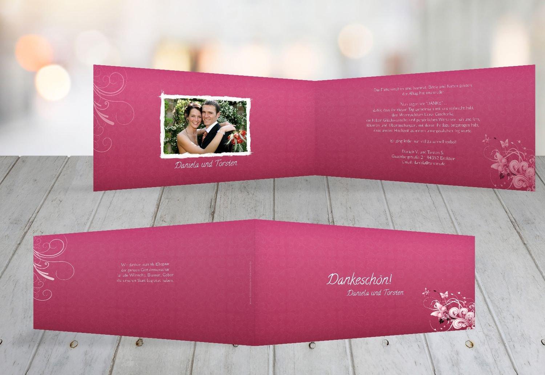 Kartenparadies Danksagung für Hochzeitsgeschenke Hochzeit Danke Din Liebeswunder, hochwertige Danksagungskarte Hochzeitsglückwünsche inklusive Umschläge   10 Karten - (Format  215x105 mm) Farbe  DunkelGelb B01N36GV0C | Hat einen langen