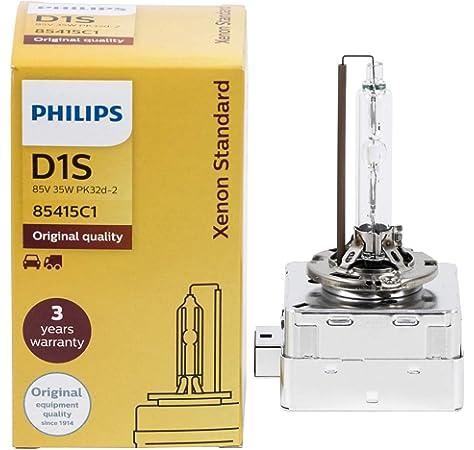 Lámpara D2S Philips Vision Xenón Colormatch 85V 35W