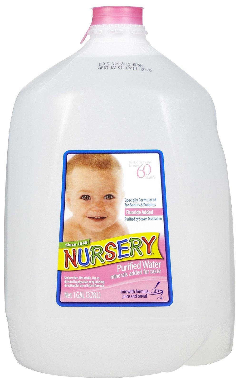 BABY DRINKING WATER NURSERY WATER (1 GAL) 128 OZ