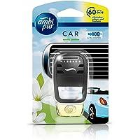 Ambi Pur Car Freshener- Exotic Jasmine, Starter Kit 7.5 ml