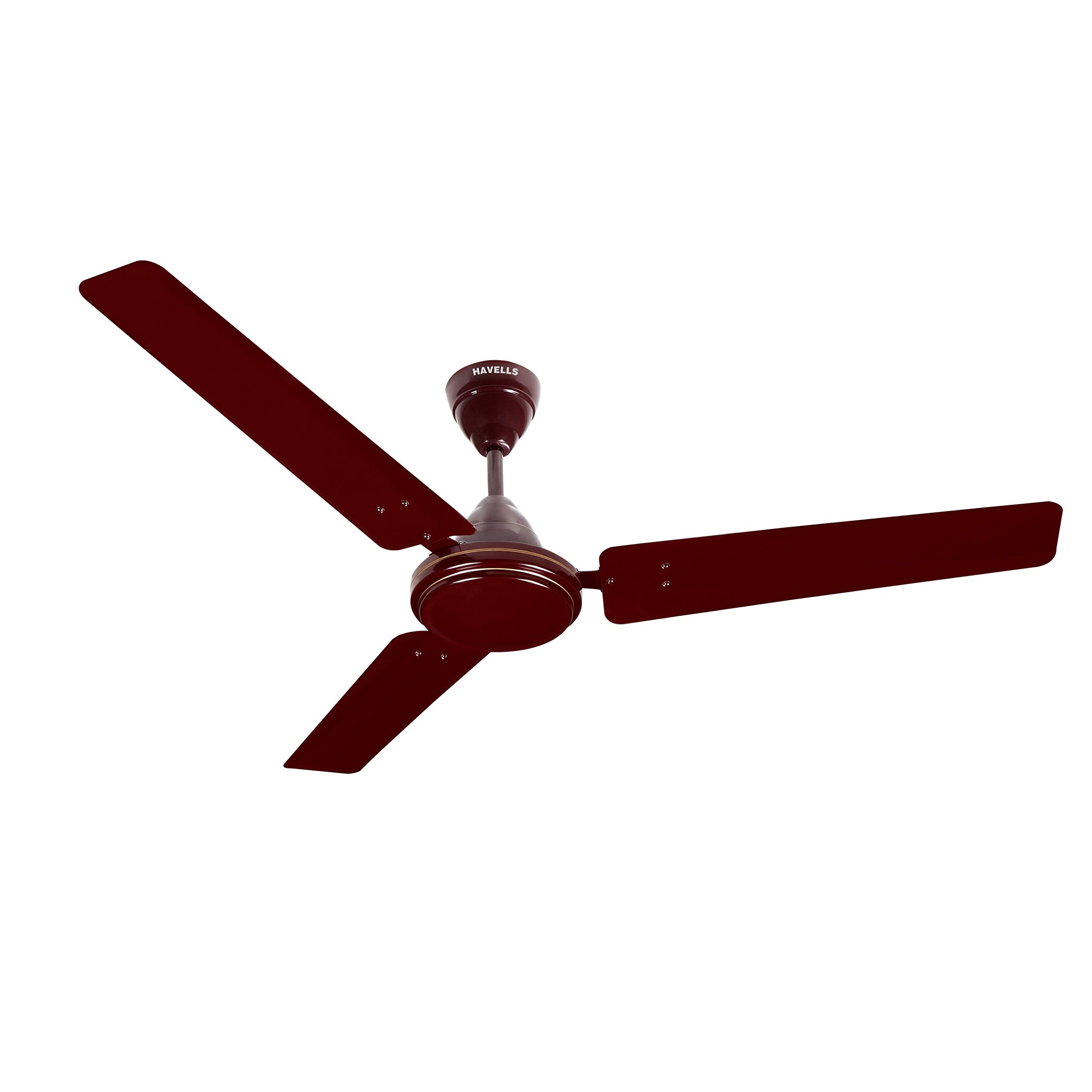 Havells Pacer 1200mm Ceiling Fan (Brown, Pack of 2)