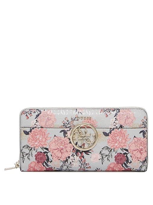 Guess - Cartera para mujer Multicolor grey floral: Amazon.es ...