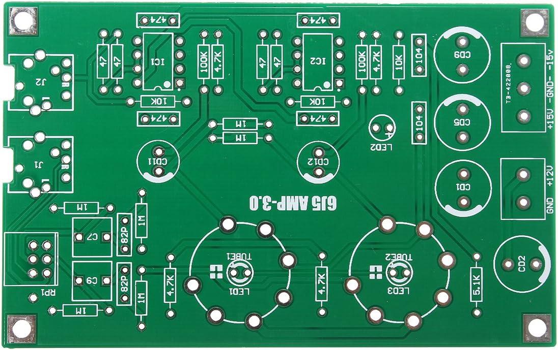 ILS DIY Class A 6J5 Vacuum Tube Preamp Preamplifier HiFi Headphone Amplifier Kit