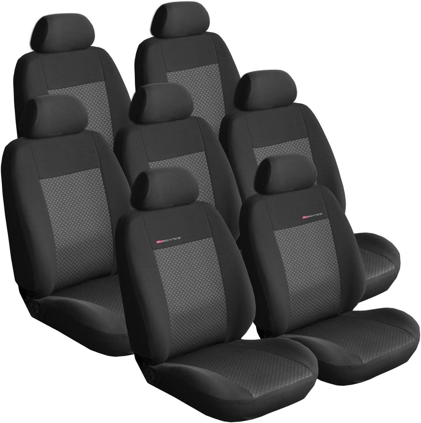 Opel Zafira B ab 05 7-Sitze Autositzbezüge Schonbezüge Schonbezug Sitzbezug Auto
