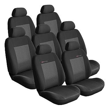 Amazon.es: Citroen C8 7 asientos a partir de 2002 DURAGADGET Asiento Fundas Asiento schonbezüge de asiento